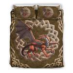 Celtic Dragon Wales Bedding Set JJITF