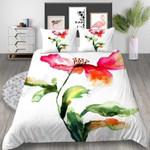 Beautiful Floral Printed Bedding Set Bedroom Decor 01