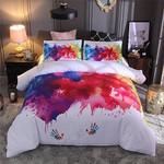 Water Color Hands 3D Printed Bedding Set Bedroom Decor