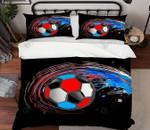 Air Football Printed Bedding Set Bedroom Decor 01
