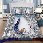 Mermaid Dream Custom Name Duvet Cover Bedding Set #V