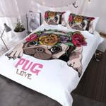 Pug Lovers Bedding Set Bedroom Decor