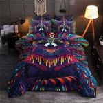 Colorful Raccoon  Bedding Set Bedroom Decor