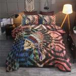 African Skull Face Vintage Printed Bedding Set Bedroom Decor
