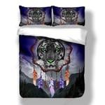 Awesome Dreamcatcher Tiger Printed Bedding Set Bedroom Decor