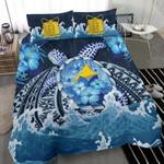 Tokelau Polynesiansea Turtle Hibiscus K Bedding Set CAMLIKH