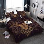Golden Elk 3D Bedding Set Bedroom Decor 01