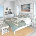 Octopus Gray Background Printed Bedding Set Bedroom Decor