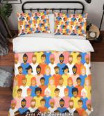 Colorful People HHCTH Bedding Set BEVREC