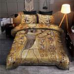 Thoth God Egyptian Bedding Custom Name Comforter Set Duvet Cover Bedding Set #L