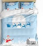 Snowman Bedding Set All Over Prints 56