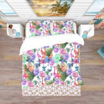 Tropical Nature Pattern Printed Bedding Set Bedroom Decor
