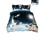 Snowman And Ice ClhB Bedding Set CAMLILE