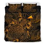 Polynesian Tokelau Gold Color Bn Bedding Set CAMLIZU