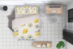 Lemon HHCTH Bedding Set BEVRGZ