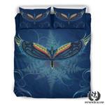 Tui Bird With Silver Fern Design Bedding Set IYT