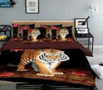 Tiger Leisurely Printed Bedding Set Bedroom Decor