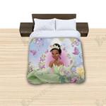 Tiana Cartoon Reversible Printed Bedding Set Bedroom Decor