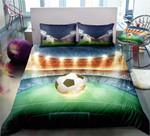 Football Field Energetic CD Bedding Set INKPJS