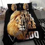 Lion God Custom Duvet Cover Bedding Set withYour Name #1206V
