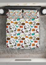 Cute Cartoon Goat Bedding Set Bedroom Decor