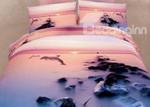 Sunset Dolphin ClhB Bedding Set CAMLINN