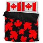 Canada Maple Leaf Bedding Set YILK
