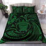 Polynesian Polynesian Green Turtle Bn Bedding Set CAMLIQJ