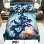 League Of Legends Shaco Halloween Concept Art Bed Sheets Spread Duvet Cover Bedding Sets