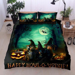 Dachshund Halloween Bedding Set      (Duvet Cover & Pillow Cases)