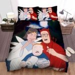 King Of The Hill Characters In Halloween Costumes Bed Sheets Spread Duvet Cover Bedding Sets