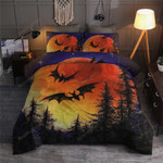 Halloween Night Bed Sheets Duvet Cover Bedding Set Great Gifts For Birthday Christmas Thanksgiving