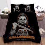 Michael Myers In Halloween Poster Kill Or Be Killed Bed Sheets Spread Comforter Duvet Cover Bedding Sets