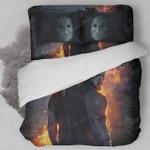 Halloween Michael Myers Custom Bedding Set (Duvet Cover &Amp; Pillowcases)