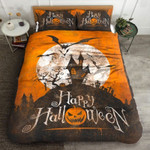 Happy Halloween Bed Sheets Duvet Cover Bedding Set Great Gifts For Birthday Christmas Thanksgiving