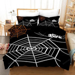 Spider Halloween Bed Sheets Duvet Cover Bedding Sets