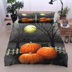 Cat Halloween Cotton Bed Sheets Spread Comforter Duvet Cover Bedding Sets
