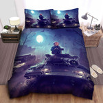 World Of Tanks Halloween Bed Sheets Spread Comforter Duvet Cover Bedding Sets