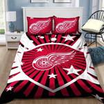 Detroit Red Wings Bedding Set Sleepy Halloween And  ? Christmas Sale