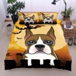 Boxer Halloween Cotton Bed Sheets Spread Comforter Duvet Cover Bedding Sets