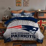 New England Patriots Bedding Set Sleepy Halloween  And Christmas Sale (Duvet Cover & Pillow Cases)