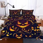 Halloween Pumpkin Light Ghost Multiple Bed Sheets Spread Comforter Duvet Cover Bedding Sets