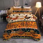 Halloween Happy Halloween Bedding Set Bed Sheets Spread Comforter Duvet Cover Bedding Sets