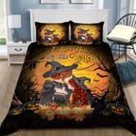 Witch Halloween I Love You My Little Witch Bed Sheets Spread Comforter Duvet Cover Bedding Sets