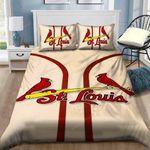 St Louis Cardinals Bedding Set Sleepy Halloween And  ? Christmas Sale (Duvet Cover & Pillow Cases)