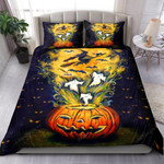 Halloween With Witch Bedding Set Bed Sheets Spread Comforter Duvet Cover Bedding Sets