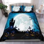 Halloween Night Bedding Set Bed Sheets Spread Comforter Duvet Cover Bedding Sets