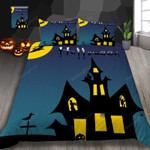 Night Castle Halloween Bed Sheets Spread Duvet Cover Bedding Sets