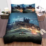 World Of Tanks Halloween Edition Bed Sheets Spread Comforter Duvet Cover Bedding Sets