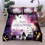 Happy Halloween  Bedding Set Bed Sheets Spread Comforter Duvet Cover Bedding Sets